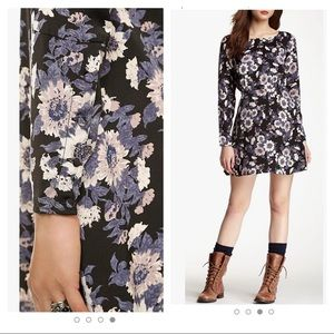 Free People ink combo dress